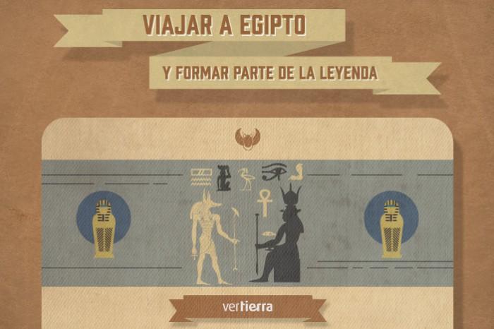 Viajar a Egipto y formar parte de la leyenda