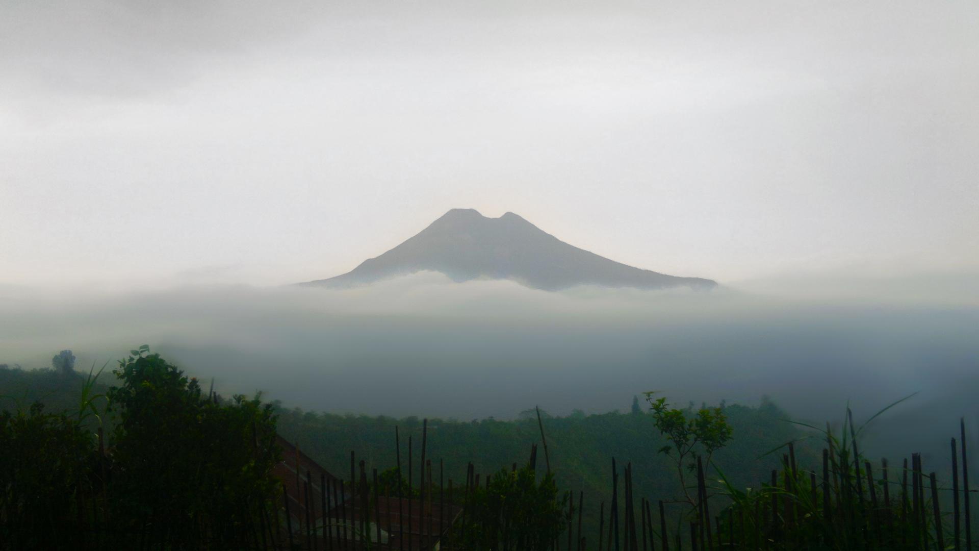 El monte Agung