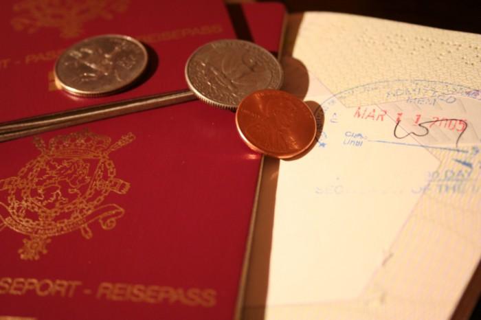 Visados y pasaportes. Requisitos de entrada en países americanos