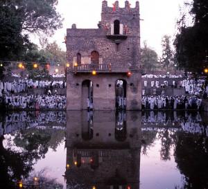 Celebración del Timkat en la ciudad de Gondar