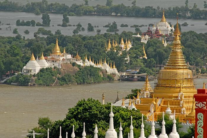 Viajar a Myanmar: la belleza de la colina de Sagaing