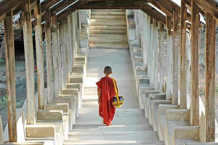 Viajar a Myanmar: el país de los monjes