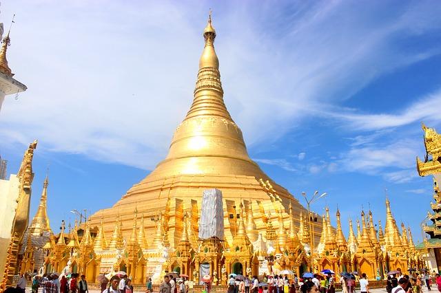 Viajar a Myanmar: la Pagoda de Schwedagon