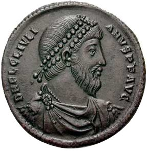 «JulianusII-antioch(360-363)-CNG» de Classical Numismatic Group, Inc. Disponible bajo la licencia CC BY-SA 3.0)