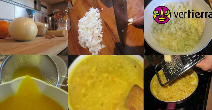Preparamos una deliciosa receta colombiana llegada desde Nueva York: arroz a la naranja