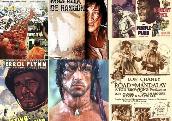 Viajar a Myanmar: un recorrido por la desigual presencia de la antigua Birmania en el cine occidental