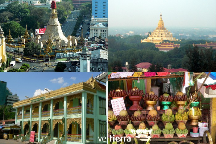 Viajar a Myanmar: un paseo por Yangón