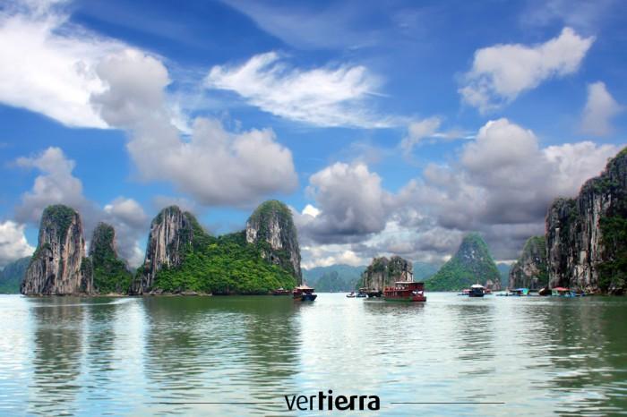 Viajar a Vietnam: Ha-long Bay o el regalo de los dragones celestiales