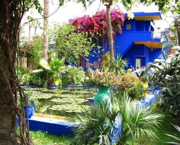 Los jardines de las Mil y una noches de Marrakech
