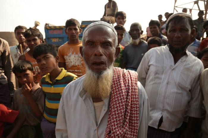 La huida de los rohingyas hacia Blangadesh