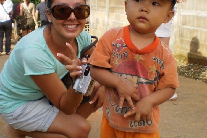 La Luna de Miel de Victoria Jiménez en Tailandia