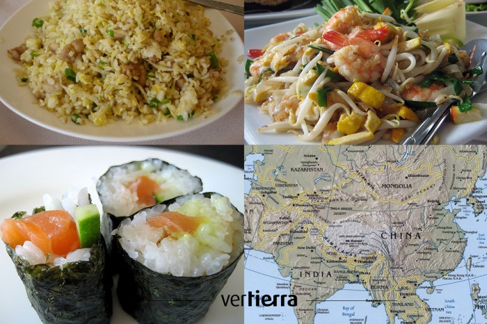 Viajar a Asia: sabores milenarios. Tres recetas para chuparse los dedos